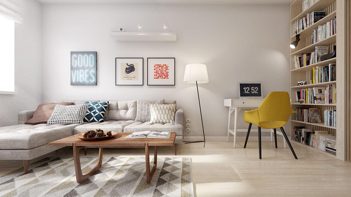 Tận hưởng không gian sống lý tưởng với những chiếc đèn trang trí chung cư