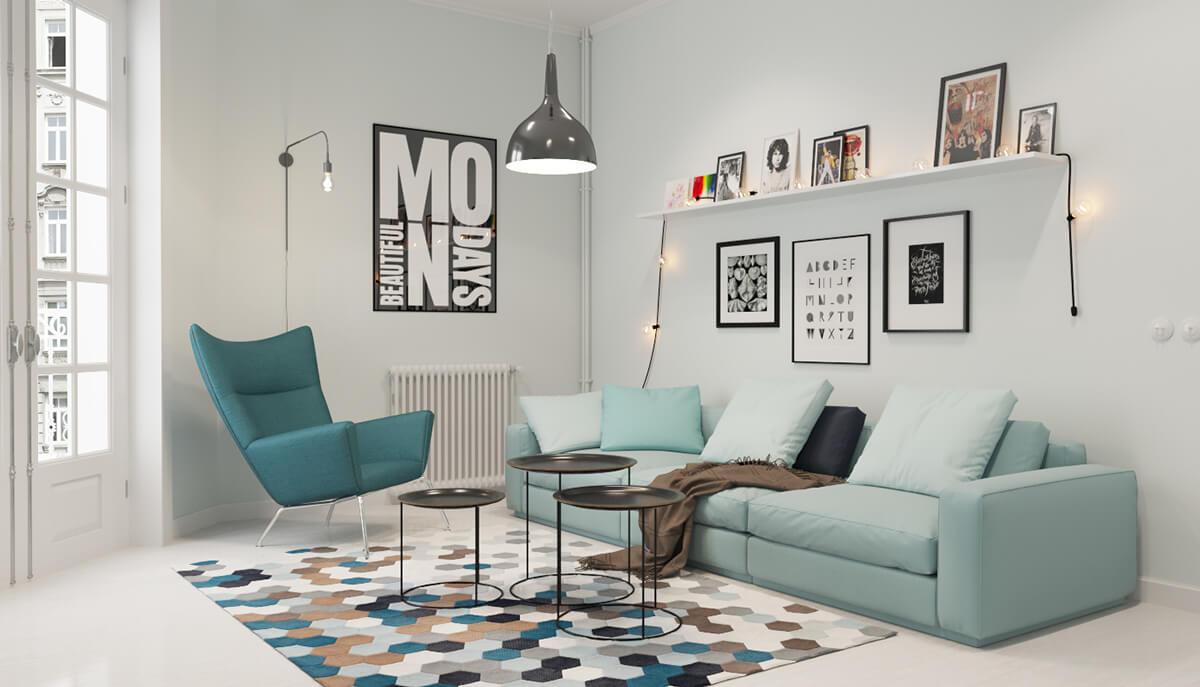 Đèn thả phong cách Industry thích hợp với nhiều không gian chung cư khác nhau
