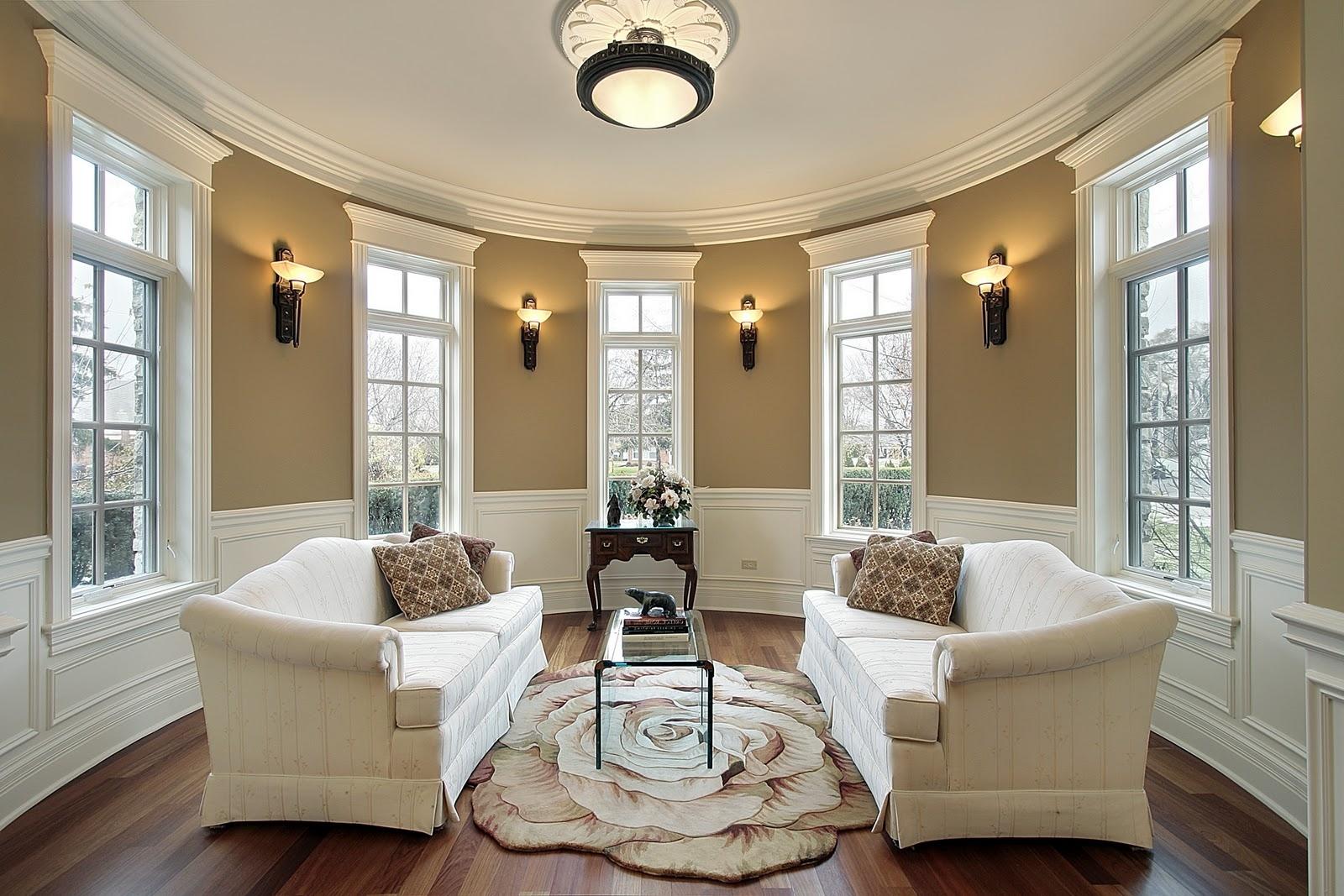 Bạn sẽ có cảm xúc gì khi ngồi trong phòng khách này?