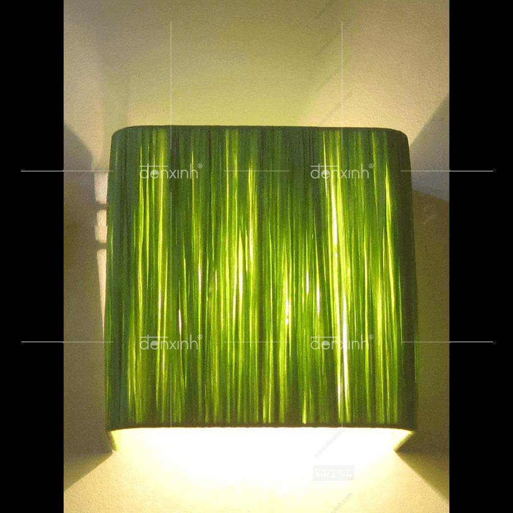Đèn áp tường vuông giấy cuốn của Đèn Xinh - soi sáng từng góc khuất
