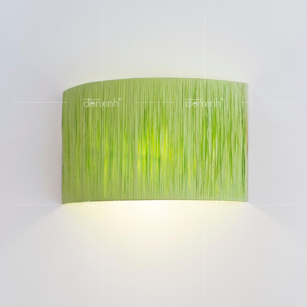 Đèn Áp Tường nghệ thuật bán nguyệt giấy lớn