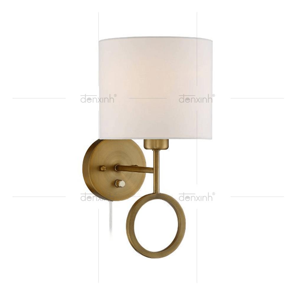 Đèn áp tường chân T đế tròn